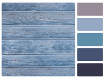 Colour palette swatch Stock Image