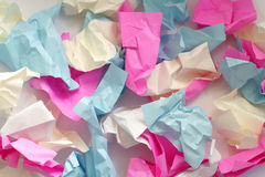 Colour Paper. Coloured sheets of paper. Diversity of colours Stock Photos