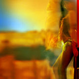 Colour of passion. Royalty Free Stock Images