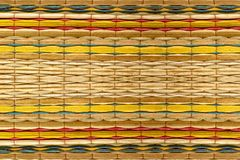 Colour patterns background design for bamboo mats
