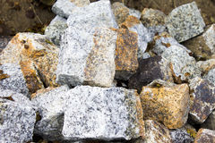Colour paving stones Royalty Free Stock Photography