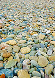 Colour pebble Stock Photos
