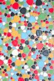Colour pebbles floor Stock Photo