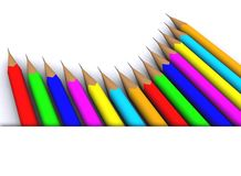 Colour pencil Royalty Free Stock Photo