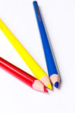 Colour Pencil. Isolated of the color Pencil stock image