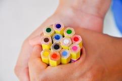Colour pencil Stock Photography