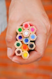 Colour pencil Royalty Free Stock Image