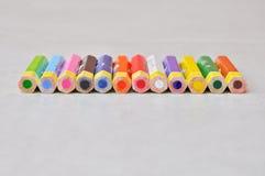 Colour pencil Stock Images