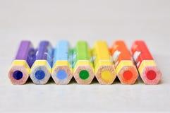 Colour pencil Stock Photos