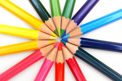 Colour pencils. Royalty Free Stock Image
