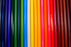 Colour pencils. Royalty Free Stock Photos