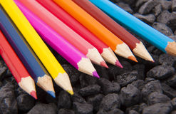 Free Colour Pencils Royalty Free Stock Photos - 34602668