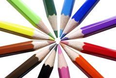 Colour pencils. Stock Image