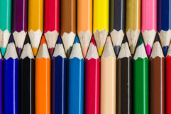 Colour pencils background - can use for background Stock Image