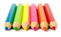 Colour pencils . Royalty Free Stock Photo