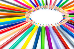 Colour pencils - creativity concept Stock Photo