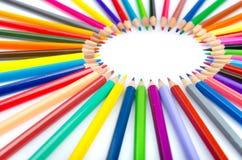 Colour pencils - creativity concept stock photo