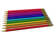 Colour pencils for drawing Stock Images