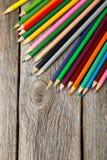 Colour pencils Stock Photo