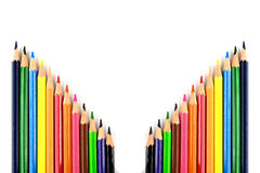 Colour pencils Royalty Free Stock Images