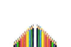 Colour pencils Royalty Free Stock Photography