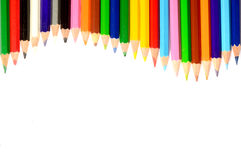 Colour pencils Stock Photography