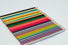 Colour pencils. Set of colour pencils for drawing Stock Images