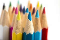 Colour pencils Stock Photo