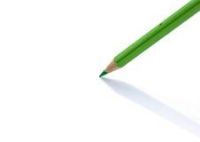 Colour pencils  on white background Royalty Free Stock Photo
