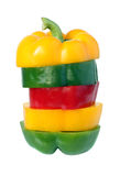 Colour pepper. Royalty Free Stock Photography