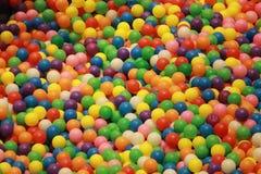 Colour piłki Obrazy Royalty Free