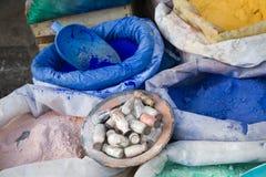 Colour pigments Stock Image