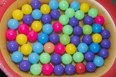 Colour plastic balls Royalty Free Stock Photo