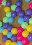 Colour plastic balls Royalty Free Stock Image