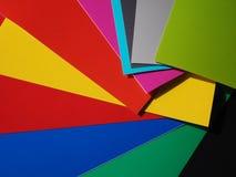 colour prövkopior Arkivbild