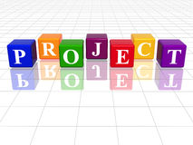 Colour project Stock Photography