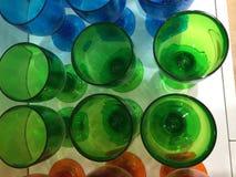 Colour puści szkła Zdjęcie Royalty Free