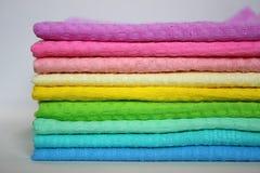 colour ręczniki Zdjęcia Stock