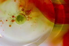 Colour Red Green Yellow Abstract royalty free stock images