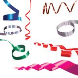 Colour ribbon Stock Image