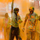 The Colour Run 2014 in Kathmandu Royalty Free Stock Photography