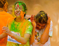 The Colour Run 2014 in Kathmandu Royalty Free Stock Image