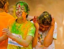 The Colour Run 2014 in Kathmandu Royalty Free Stock Image