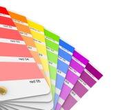 Colour sampler. Zdjęcie Stock