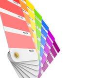 Colour sampler. Obrazy Royalty Free
