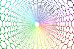 Colour siatki abstrakcjonistyczny tło ilustracji