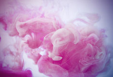 Colour smoke. And abstract art moment Stock Photos