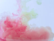 Colour smoke Royalty Free Stock Photo