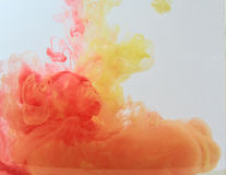 Colour smoke Royalty Free Stock Photography