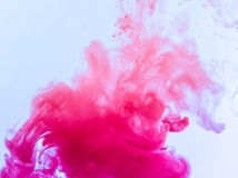 Colour smoke Stock Photography